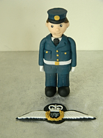 RAF Theme Cake Toppers